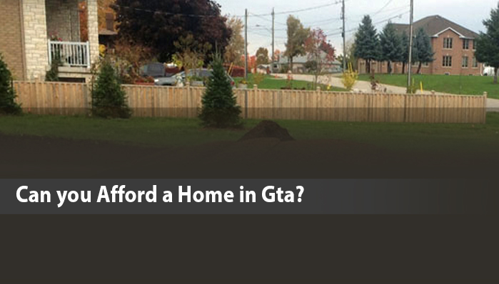 Can you afford a home in GTA?